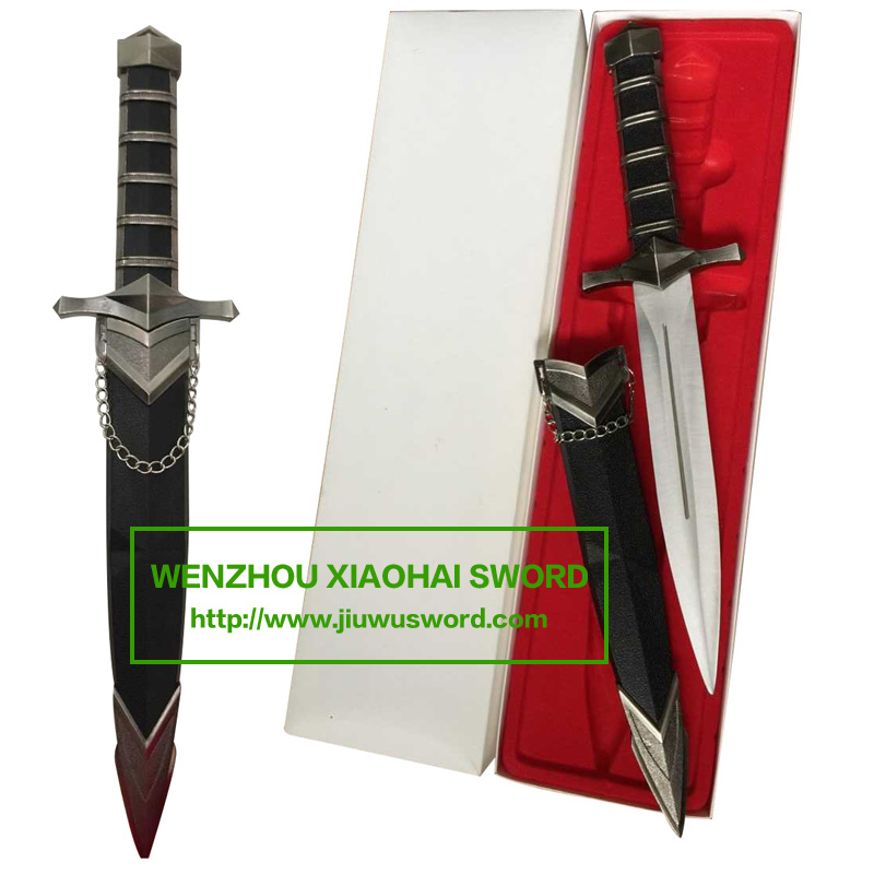 Hunting Knife with Chain and Sheath Letter Opener 95n9013