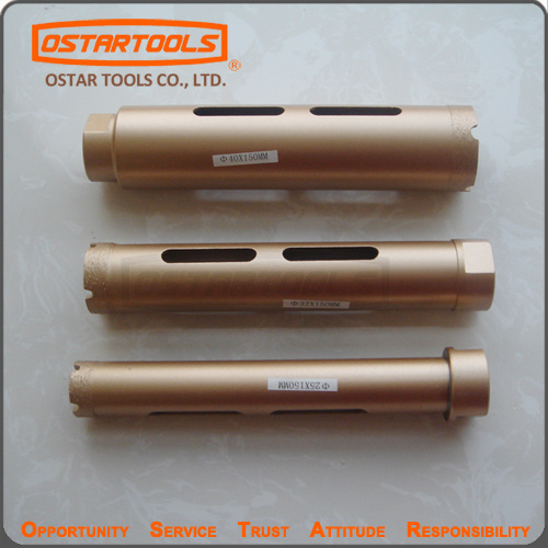 Diamond Core Drill Bit Set Wet Use and Dry Use Hole Saw
