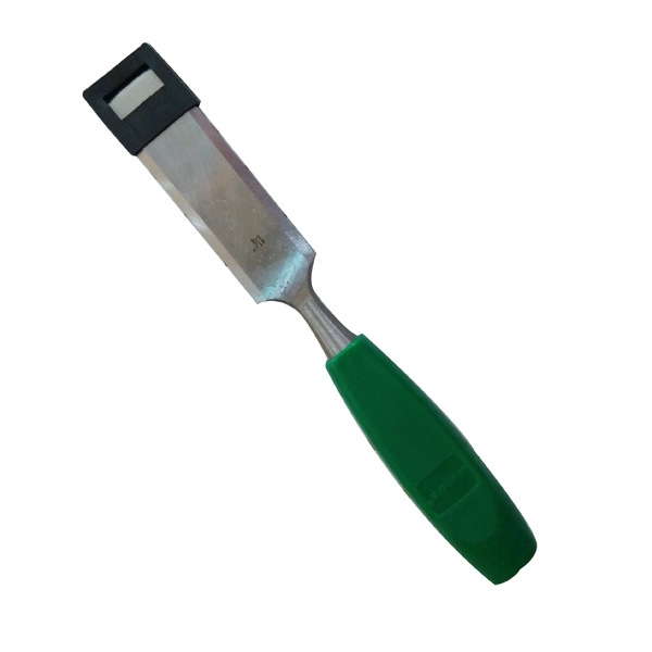 Double Color Plastic Handle Wood Chisel