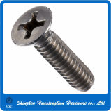Stainless Steel Flat Head Phillips Machine Screw