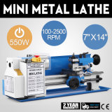 550W Woodworking Mini Metal Lathe Machine