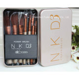 Nake D 3 Makeup Brush 12PCS/set Power Brush Professional Make Up Brush kit