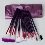 12PCS Makeup Tool Nylon Hair Makeup Cosmetic Brush Set