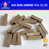 High Efficiency 1 Meter Stone Cutting Tools / Diamond Tips / Marble Cutting Segment for Sale