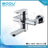 Wall Mounted Sinhle Handle Zinc Chrome Fashion Bathtub Mixer