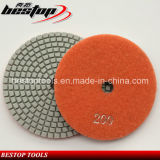 D100mm Resin Bond Diamond Flexible Polishing Pad for Stone