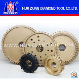 High Quality Diamond Profile Wheel for Granite Marble Polishing