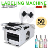 Electrical Mt-50 Semi-Automatic Round Bottle Labeling Machine