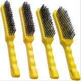 Hand Tools Wire Brush Set Plastic Handle Heavy Duty Industrial