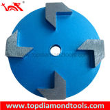 Diamond Grinding Wheels with 4 Segments for Concrete Floor Polishing