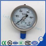 Ytn-100h High Quality and Best-Selling German Type All-Steel Shock-Proof Pressure Gauge Vibration-Proof Pressure Gauge