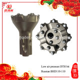 Russian Type Drill Button Bit, Russian Type Down-The-Hole Hammer for Hard Rock