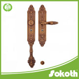 Sokoth Made Brass Villa Gate Door & Door Hardware with Big Plate