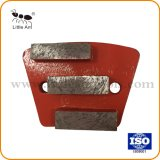 Trapezoid Diamond Concrete Grinding Plate with 3 Segment