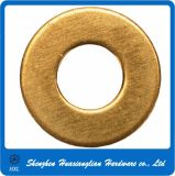 Hardware Fasteners Round Flat Brass Washer