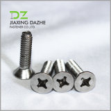 Stainless Steel Screw DIN 965 Cross Recessed Countersunk Machine Screw
