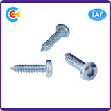 Stainless Steel Flower Pan Head Self-Tapping Screw for Building/Railway Machine