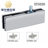 XYS020 Top Corner Patch Fitting Glass Clamp for Frameless Glass Door