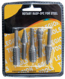 Rotary Rasp, 5PC for Steel Hand Working Tool