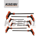 7 PC T-Type One Way Star & Tamperproof Key Wrench Set - Kseibi