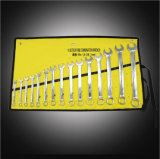 Factory Outlet 15 Pieces Manual Wrench Sets