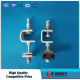 Galvanized Steel Down Lead Clamp for Tower Pole Line Hardware