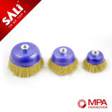 High Quality Wire Cup Brush for Removing Rust and Paint