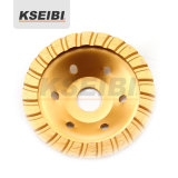 Good Quality Kseibi Single Row Diamond Wheel Cup Wheel