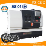 Wrc28 Touch Screen Alloy Wheel Diamond Cutting CNC Lathe