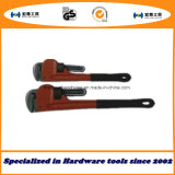 American Type Heavy Duty Pipe Wrenches with PVC Handle