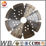 Laser Welded Diamond Saw Blade for Cutting Concrete/Diamond Cutting Tools (Flat Seg)