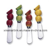 Apple Shape Butter Spreader, Stainless Steel Butter Knife