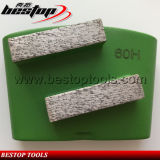 Metal Hard Bond Double Bar Seg Grinding Block Diamond Grinder for HTC
