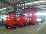 Mobile Battery Power Scissor Lift Electric Hydraulic Scissor Lift with Ce