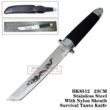 Fixed Blade Hunting Knives Survival Tool Camping Tools Survival Tanto Knife 23cm HK8512