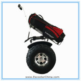 Modern High Quality Big Power 2000W All Terrain Electric Scooter Two Wheel Smart Balance Electric Golf Trolley for Golf Course Recreation