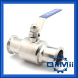 Sanitary, Stainless Steel, Clamp End, SUS304, Tee Type, Manual, Ball Valve