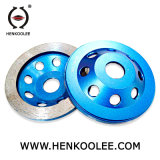 Good Quality Continuous Diamond Cup Stone Grinding Wheel for Ceramic Tiles