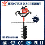 Metal Material and Anti-Slip Grip Mini Hole Digger Ground Drill
