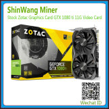 Zotac Gtx 1080ti Plus 11GB Graphics Cards for Mining Ethereum Sc/Zec Coins