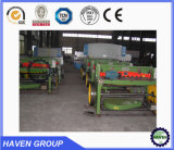 Manual sheet metal shearing machine, mechanical sheet metal shears