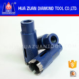 Diamond Drilling Bit with Protect Teeth Vacuum Brazed