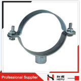 Pipe Holder Fitting Cast Iron Stainless Steel Heavy Duty Pipe Clamp