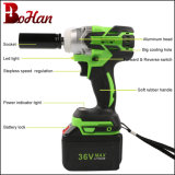 2017 Hot Selling Cordless Brushless Impact Wrench 17/18/19/21/22mm