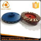 4 Inch M14 Double-Deck Segment Grinding Diamond Cup Wheel