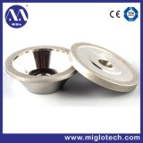 Customized Electroplated Bonded Diamond Grinding Wheel (GW-100069)