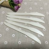Airplane Biodegradable Cutlery Cornstarch Plastic Disposable Knife