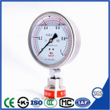 60mm High Quality and Best-Selling Vibration-Proof Pressure Gauge with Stainless Steel