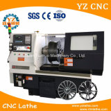 Mobile Type Diamond Cut Alloy Wheel CNC Lathe