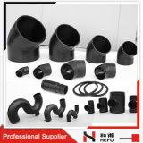 Black Waste PE Plastic HDPE Water Pipe